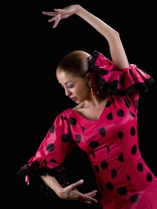 35327878 - woman dancing flamenco
